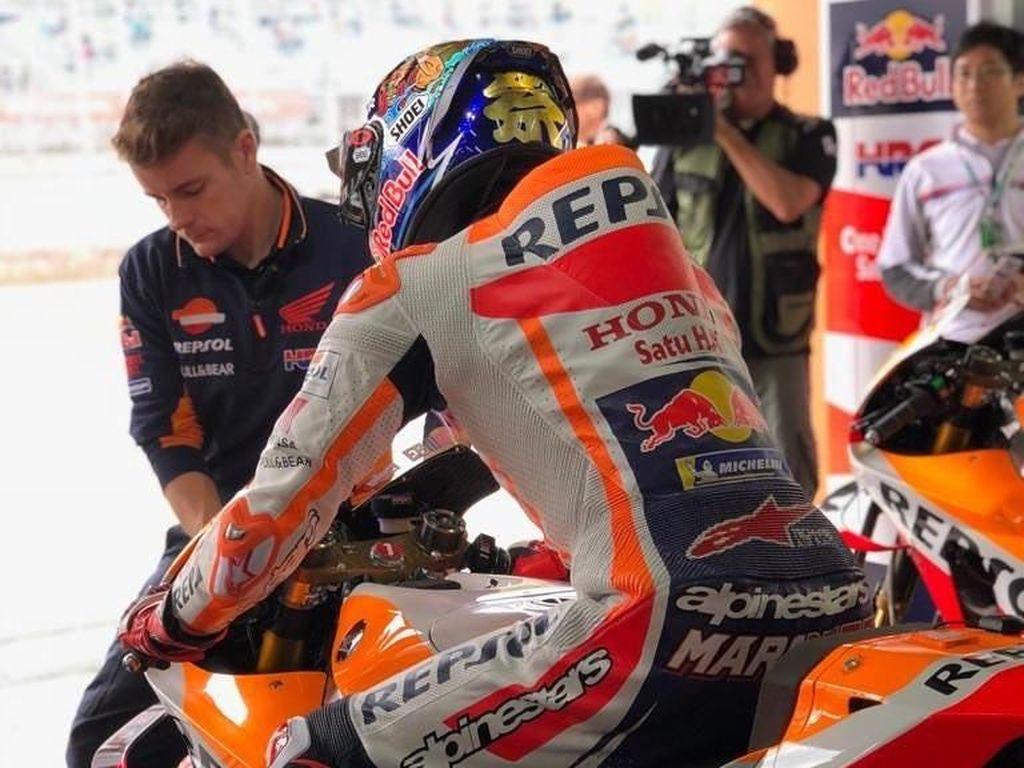 Bagaimana Cara Motor MotoGP Diservis?