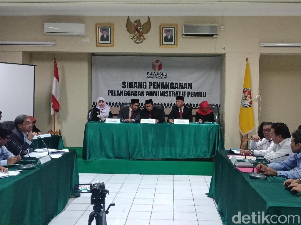 Sidang Videotron Jokowi-Maruf di Bawaslu DKI Ditunda Keempat Kalinya