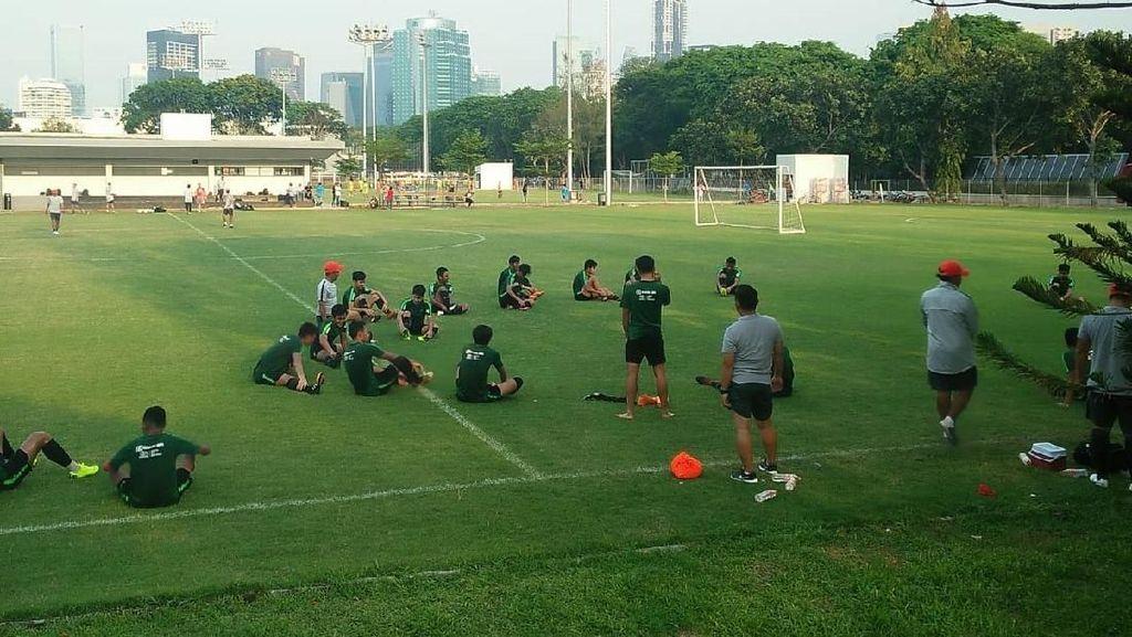 Jelang Lawan UEA, Timnas U-19 Fokus Benahi Pertahanan