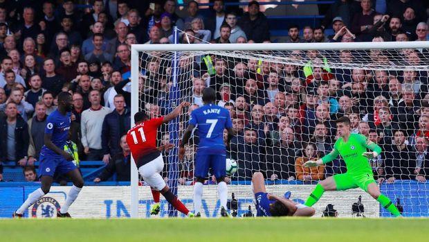 Hasil Chelsea Vs MU: Dramatis! Gol Barkley Batalkan Kemenangan Setan Merah
