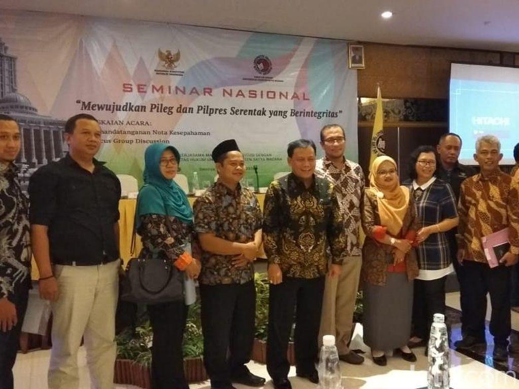 Bawaslu Kab. Semarang Tangani Dugaan Money Politics Dua Caleg