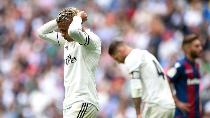 Real Madrid terlempar dari posisi klasemen ke kompetisi Eropa (Denis Doyle/Getty Images