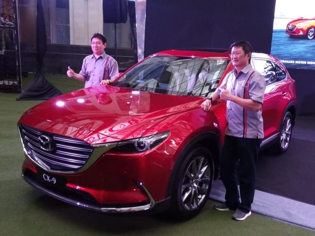 Mazda Indonesia Yakin 700 Unit CX-9 Bakal Laris si 2018