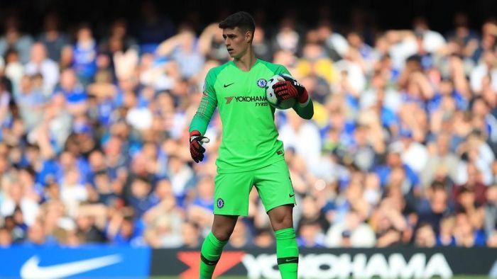 Kepa jadi sorotan usai laga melawan Manchester City. (Foto: Marc Atkins/Getty Images)