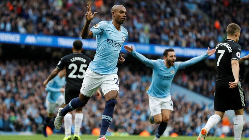 Hasil City vs Burnley: The Citizens Hajar Tim Tamu 5-0
