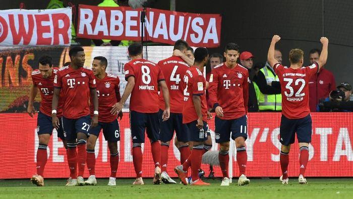 Bayern Munich menang 3-1 atas Wolfsburg di pekan ke delapan Bundesliga. (Foto: Fabian Bimmer/Reuters)