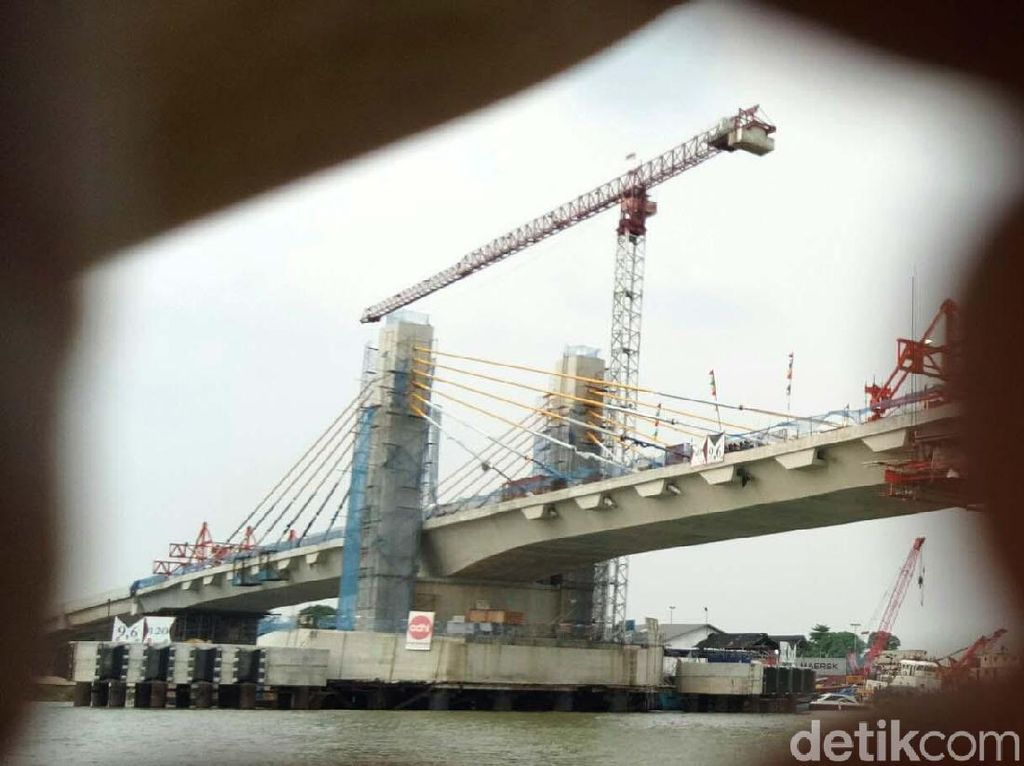 Hampir Rampung, Ini Penampakan Jembatan Musi IV Palembang