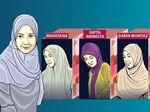 Lima Istri Muda di Pusaran Korupsi