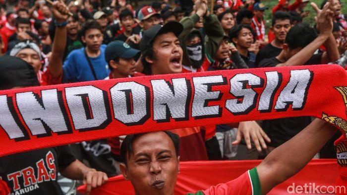 Dua suporter Indonesia yang ditahan Kepolisian Malaysia dibebaskan hari ini (Ari Saputra)