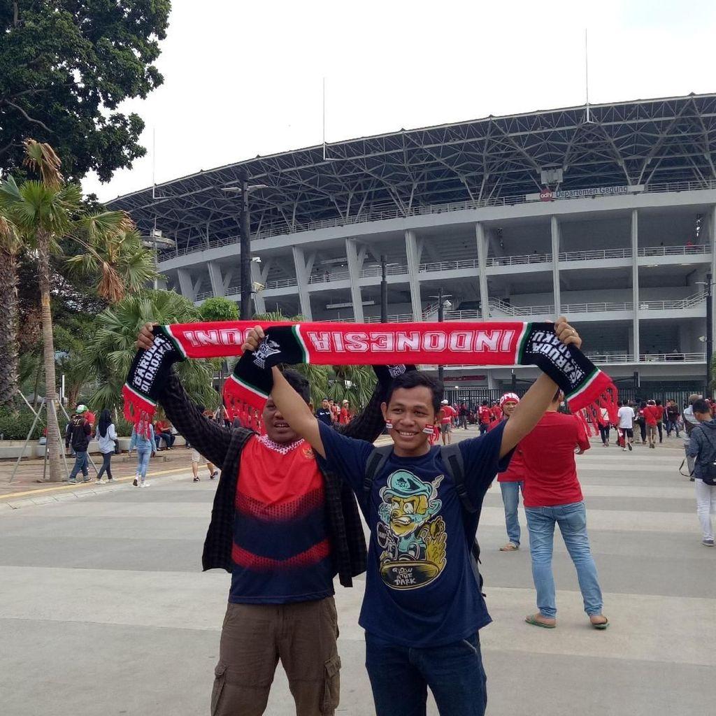 Jelang Qatar vs Indonesia, GBK Mulai Memerah
