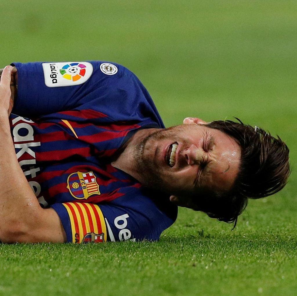 Menepi Tiga Pekan, Messi Lewatkan Laga-Laga Ini