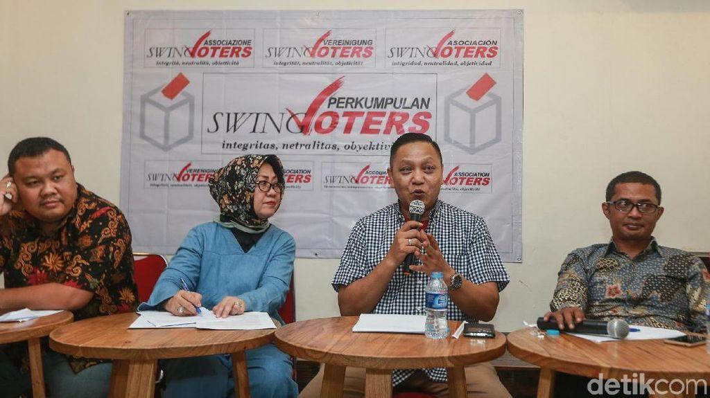 Diskusi Swing Voters dalam Pemilu 2019