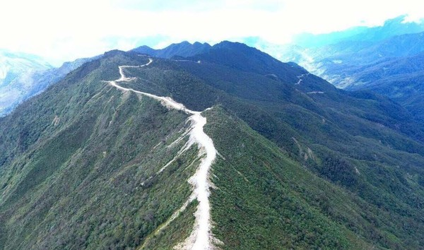 Terdiri dari 761,57 km di Provinsi Papua dan 147,23 km di Provinsi Papua Barat. Hendra Kusuma/detikcom.
