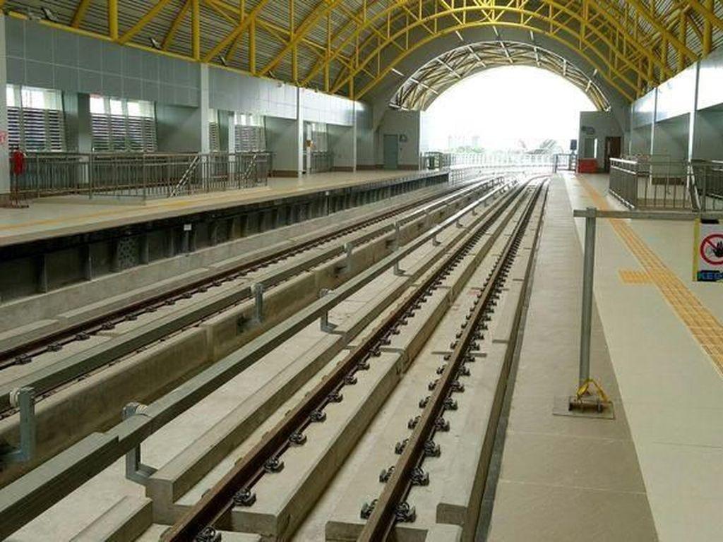 Gaet Penumpang, KAI Kaji Area Komersil di Stasiun LRT Palembang