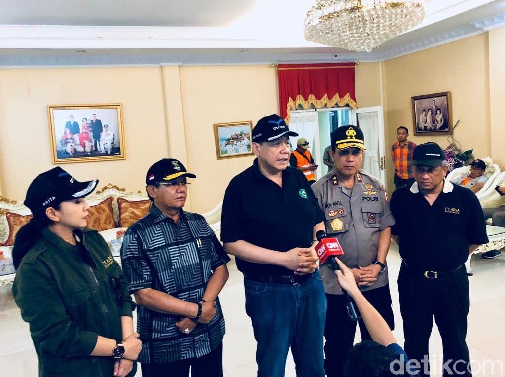 Terima Bantuan, Gubernur Sulteng Ucapkan Terimakasih ke CT Corp