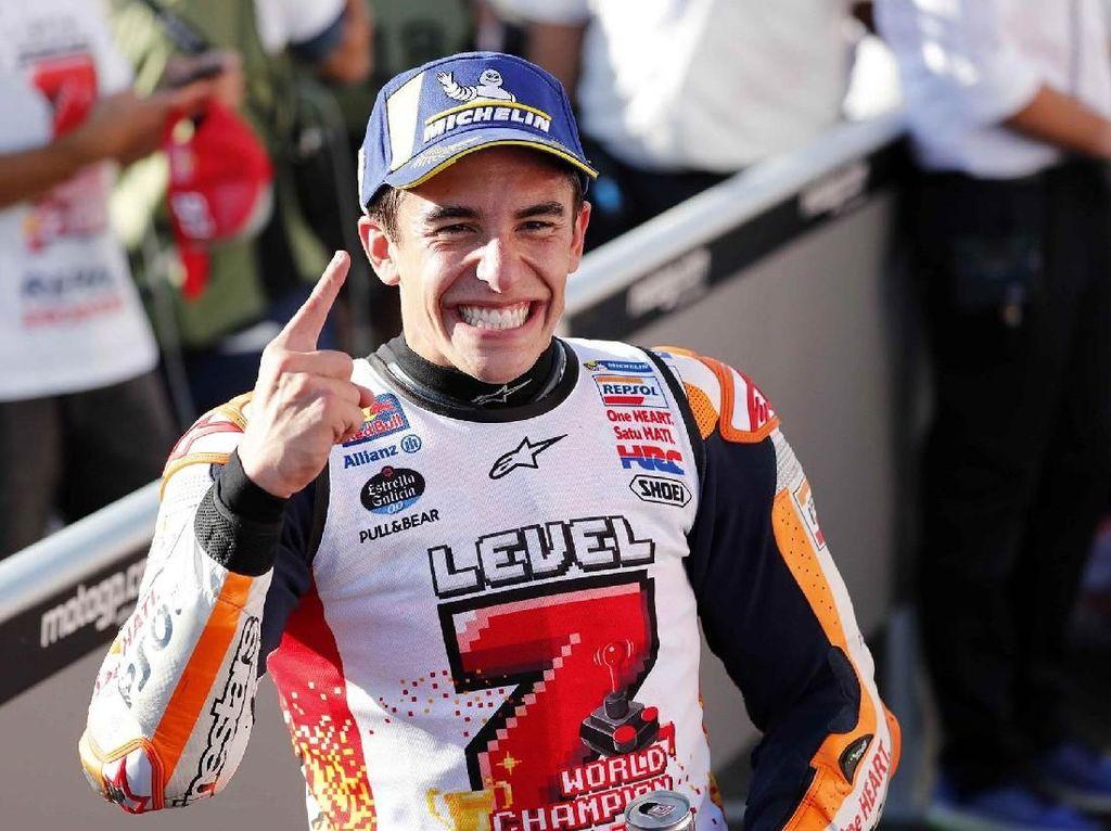 Membandingkan Marc Marquez dengan Rossi dan Pebalap Legendaris Lainnya