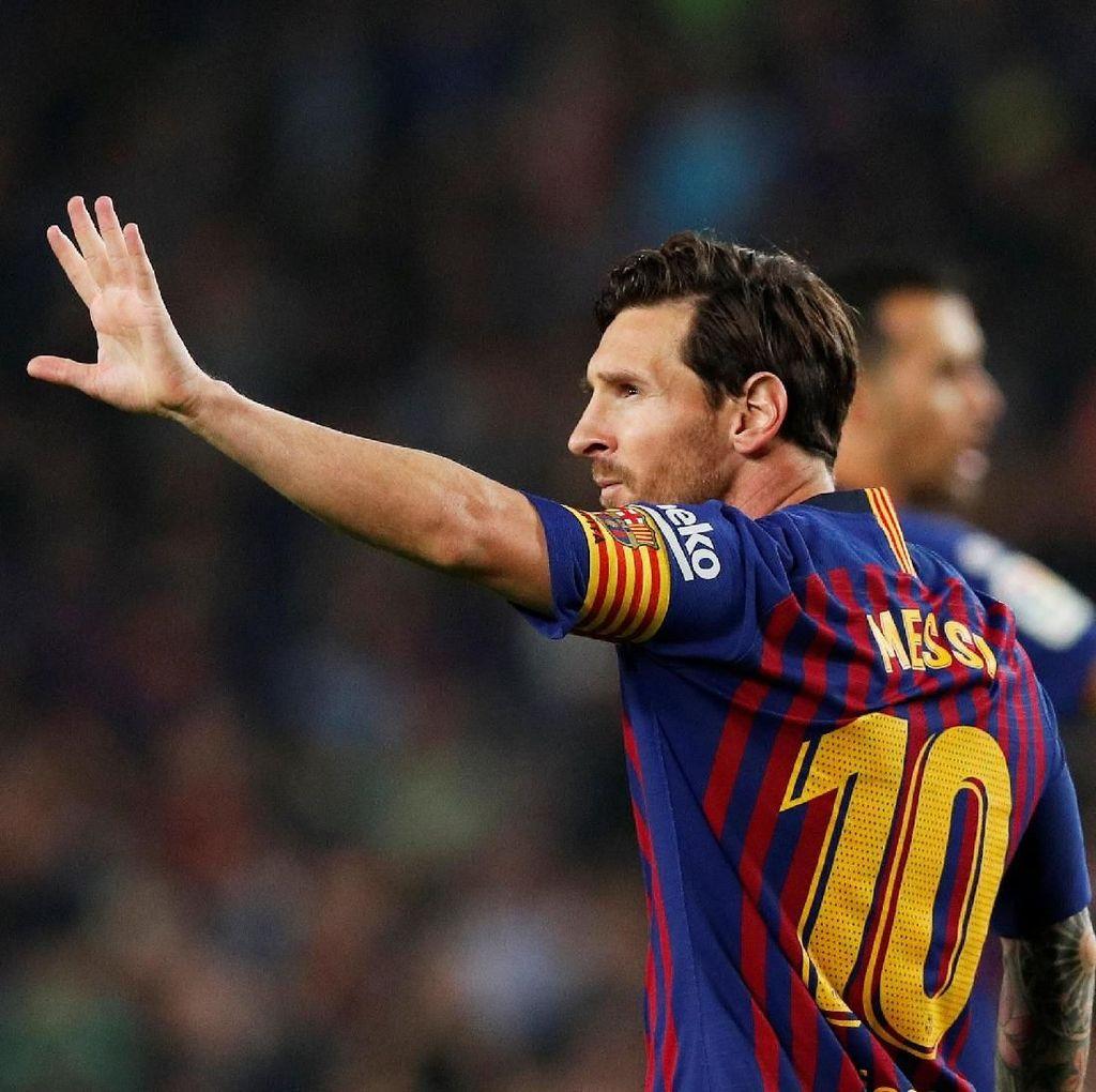 Bisa Bermain di Malam Stoke yang Dingin, Messi?