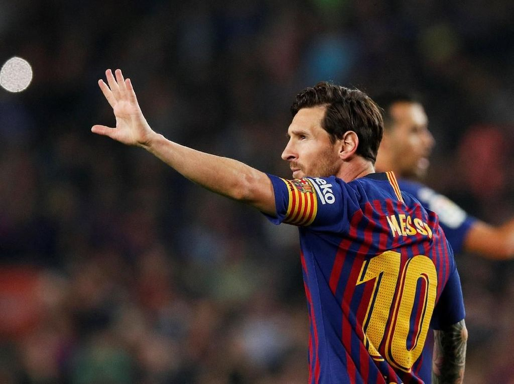 11 Penyerang Tersubur di 2018: Messi Pertama, Ronaldo Kedua