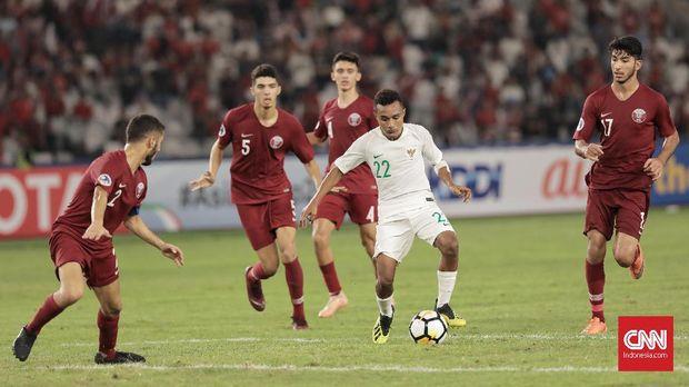 Todd Rivaldo Alberth Ferre mencetak tiga gol ke gawang Qatar.