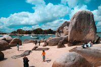 Wisatawan yang mendatangi Belitung (Khairul Leon/d'Traveler)