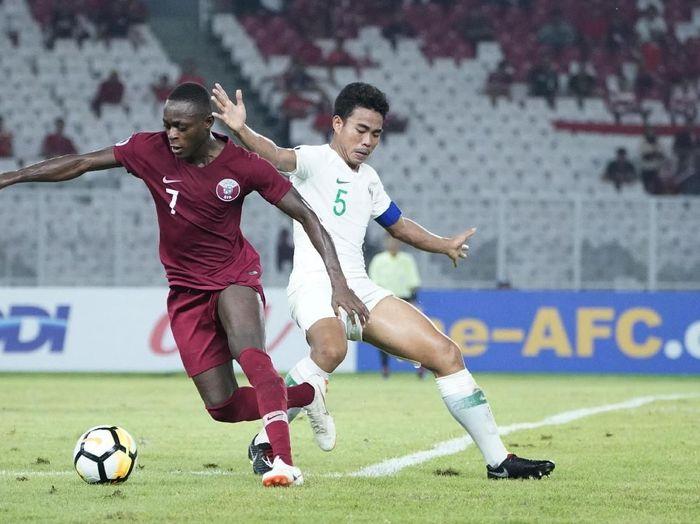 Pemain belakang Indonesia U-19, Nurhidayat Haji Haris. (Foto: Robertus Pudyanto/AFC)