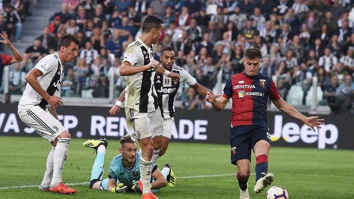 Juventus ditahan imbang Genoa di Allianz Stadium. (Foto: Tullio M. Puglia/Getty Images)