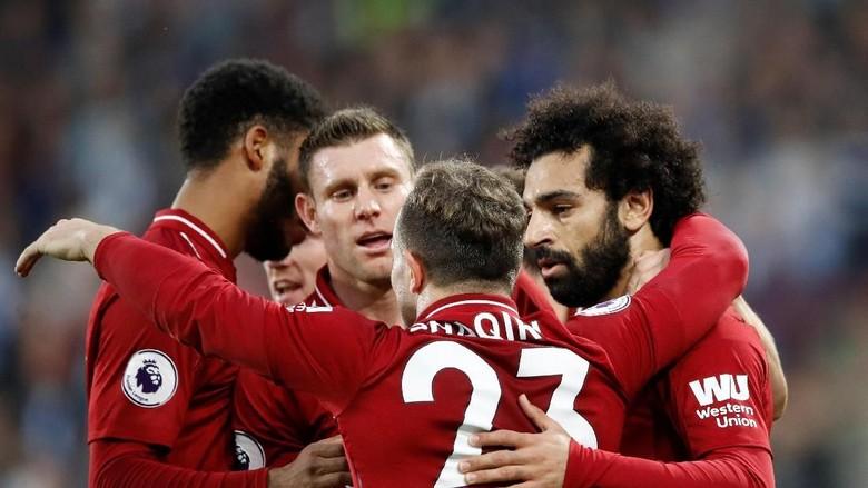 Hasil Liga Inggris: Salah Menangkan Liverpool di Kandang Huddersfield