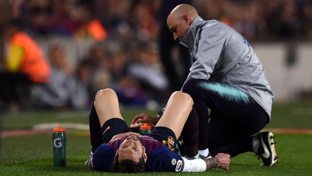 Messi vs Sevilla: Bikin Assist, Cetak Gol, Lalu Cedera