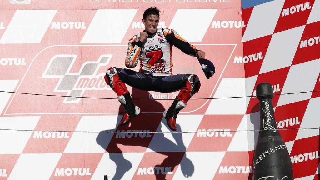 Pastikan Gelar Ketujuh, Marquez Lebih Baik daripada Rossi
