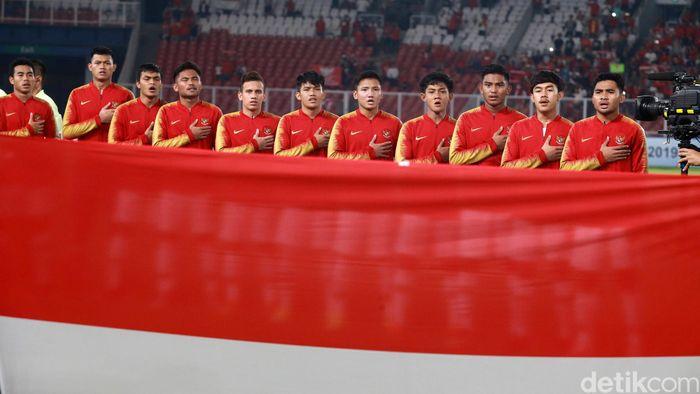 Timnas Indonesia menurunkan pemain seperti Muhamad Riyandi, Asnawi Mangku Alam, Nurhidayat, Rachmat Irianto, Firza Andika, Syarian Abimanyu, Witan Sulaiman, Muhammad Lutfi, Egy Maulana, Saddil Ramdani, dan Rafli Mursalim.