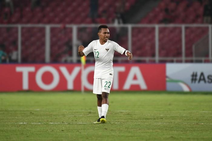 Todd Rivaldo Ferre mencetak hat-trick saat Indonesia kalah 5-6 dari Qatar di Piala Asia U-19 2018