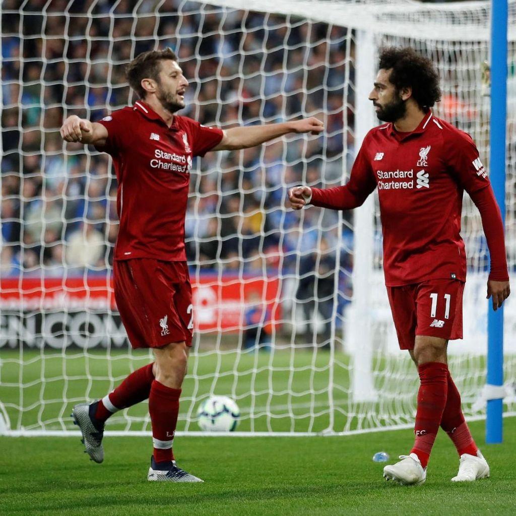 Liverpool Ungguli Huddersfield 1-0 di Babak Pertama