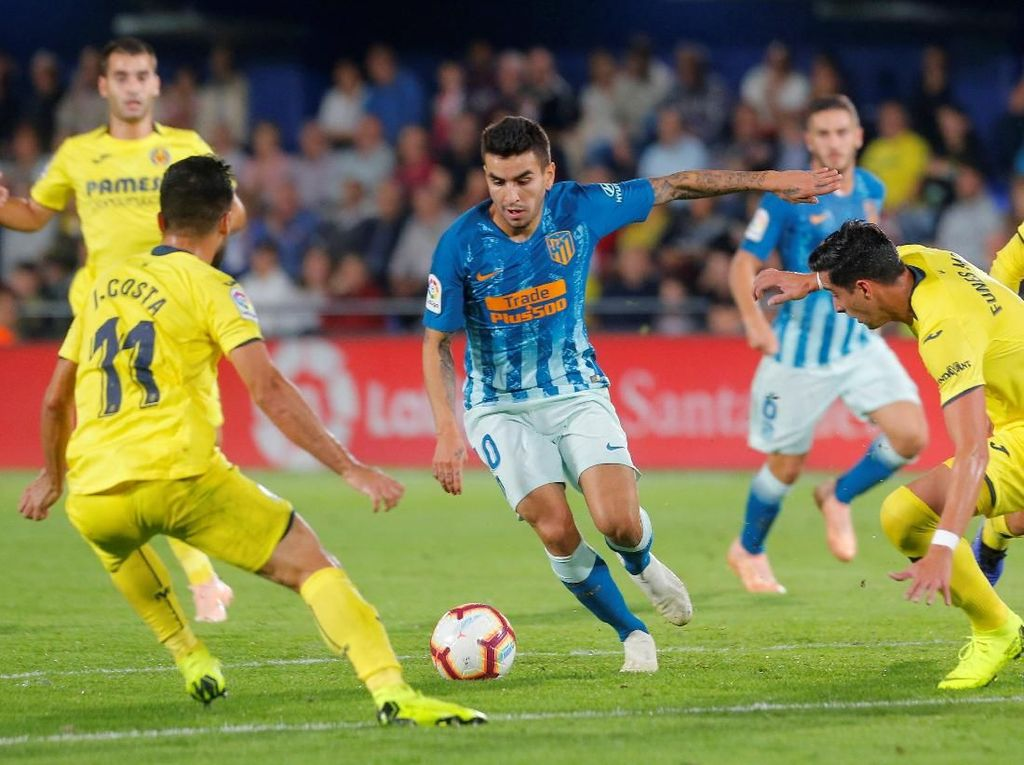 Hasil Copa del Rey: Atletico Madrid Kalahkan Sant Andreu 1-0