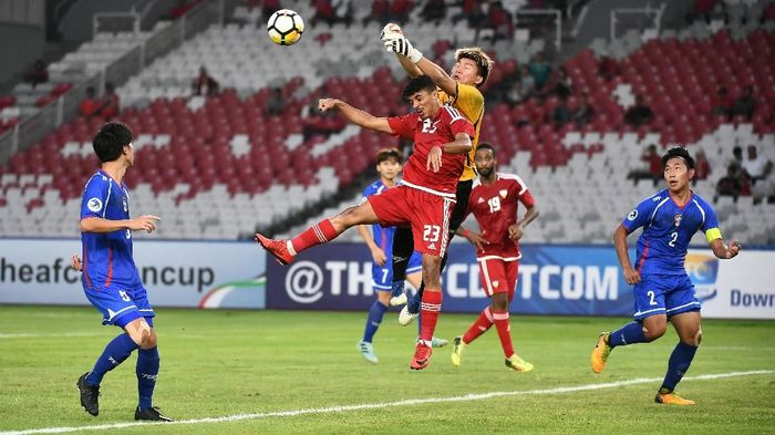 UAE melumat Taiwan 1-8 di laga Grup A Piala Asia U-19. (Foto: AFC)