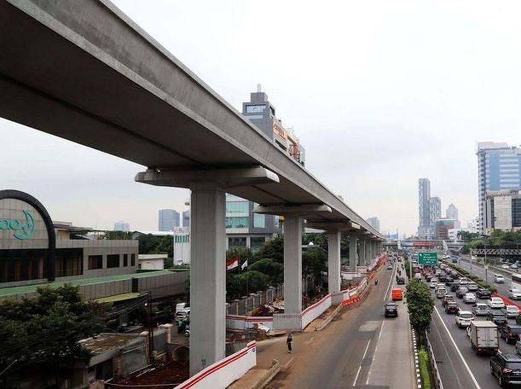 Digarap Pemerintah dan Investor, Proyek LRT Bandung Telan Rp 5 T