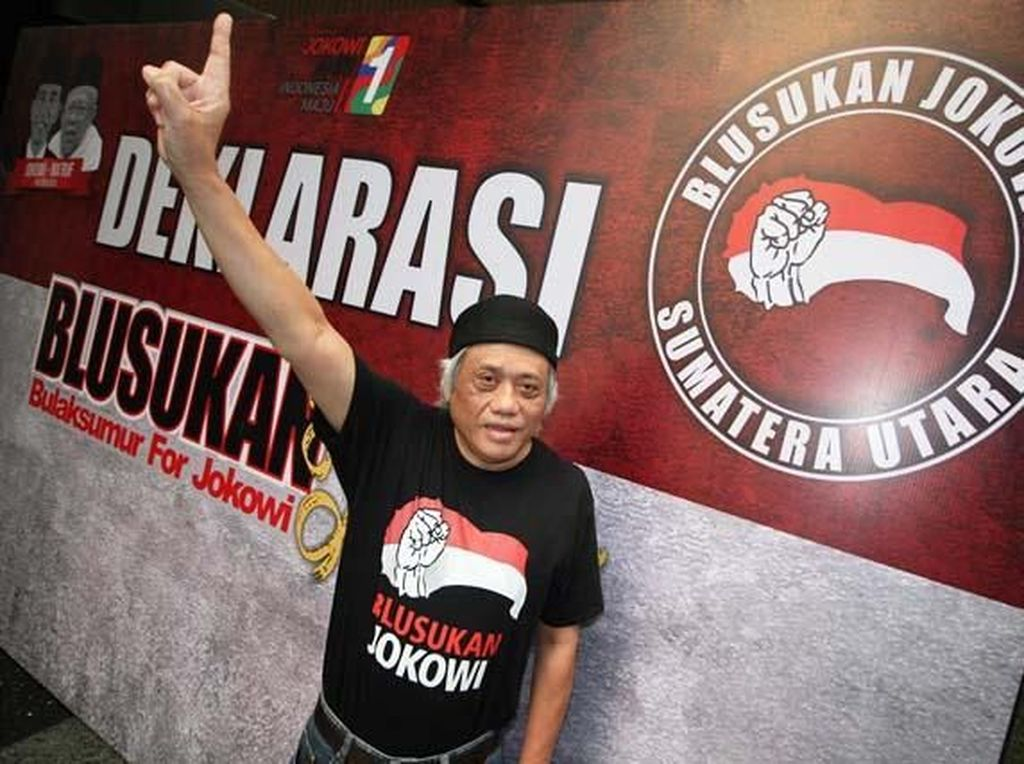 Deklarasi Blusukan Jokowi di Sumut