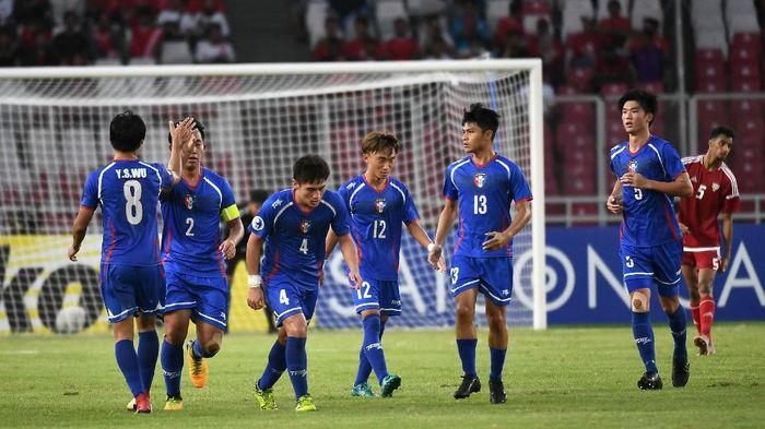 Sejumlah pemain Taiwan U-19 mengalami sakit perut di Piala Asia. (Foto: AFC)