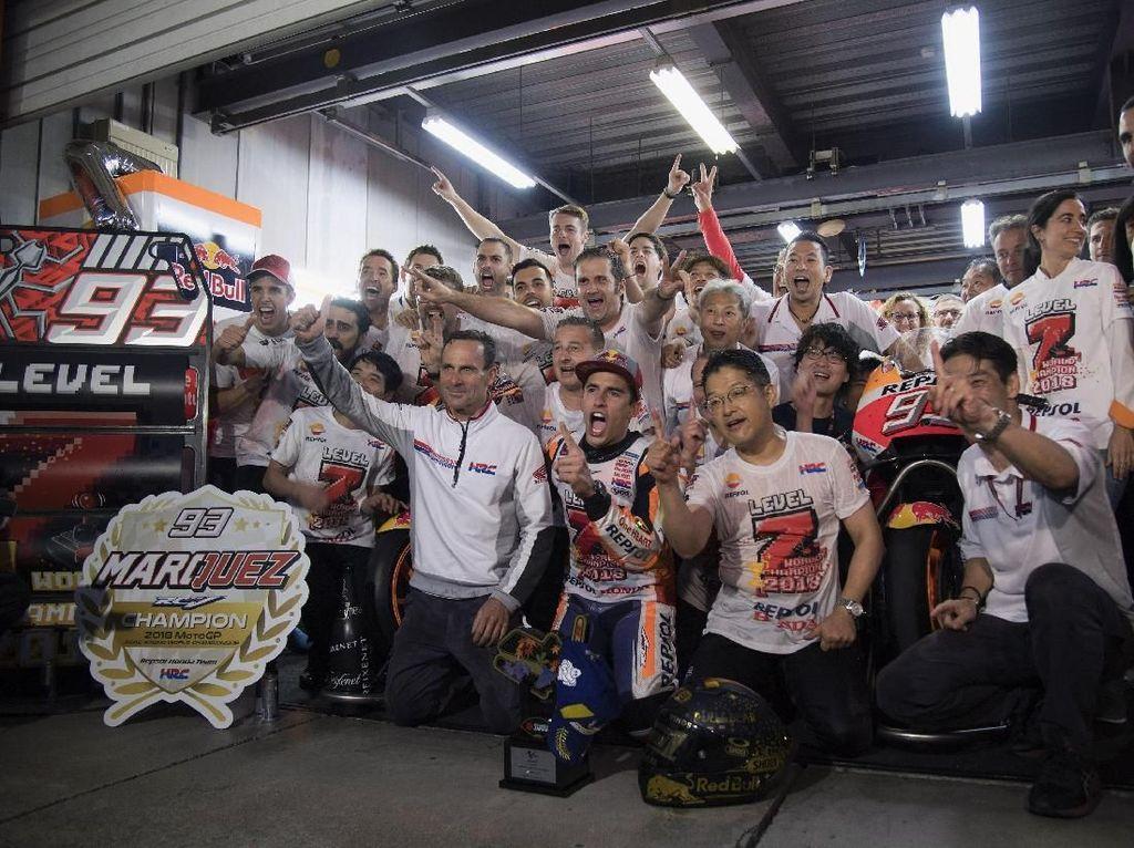 Sudah 7 Titel Juara, Marquez Mau Lebih Banyak Lagi