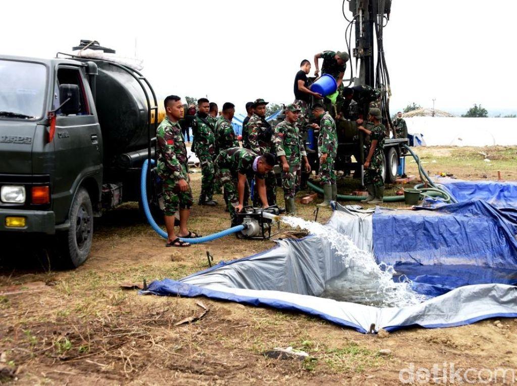 TNI Cari Mata Air di Petobo, Perkampungan yang Terkena Likuifaksi