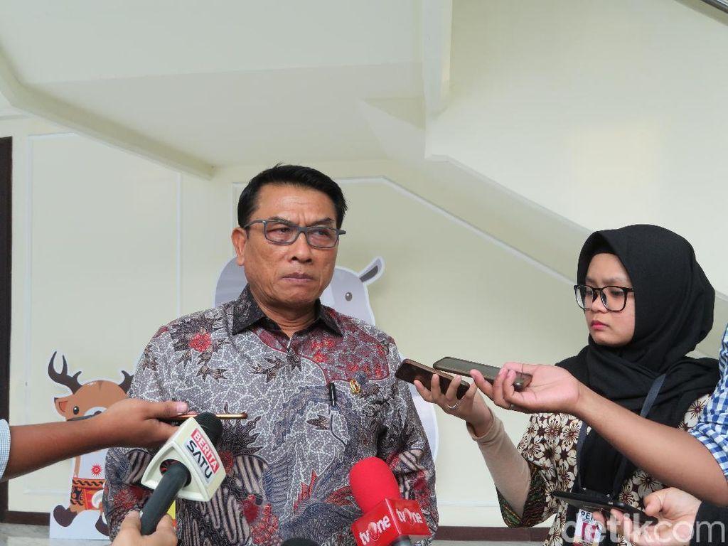 Robertus Tersangka Hina TNI, Moeldoko: Bedakan Kritik dengan Pelanggaran UU