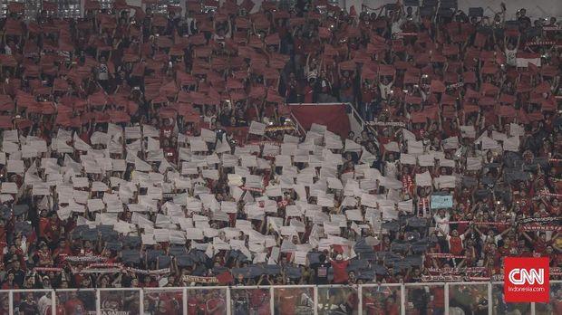 Dukungan suporter diharapkan oleh Timnas Indonesia U-19 ketika menghadapi UEA.