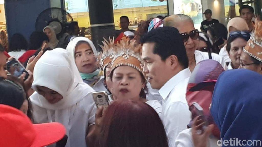 Erick Thohir Ingatkan Relawan Perempuan Jokowi Kampanye Sehat