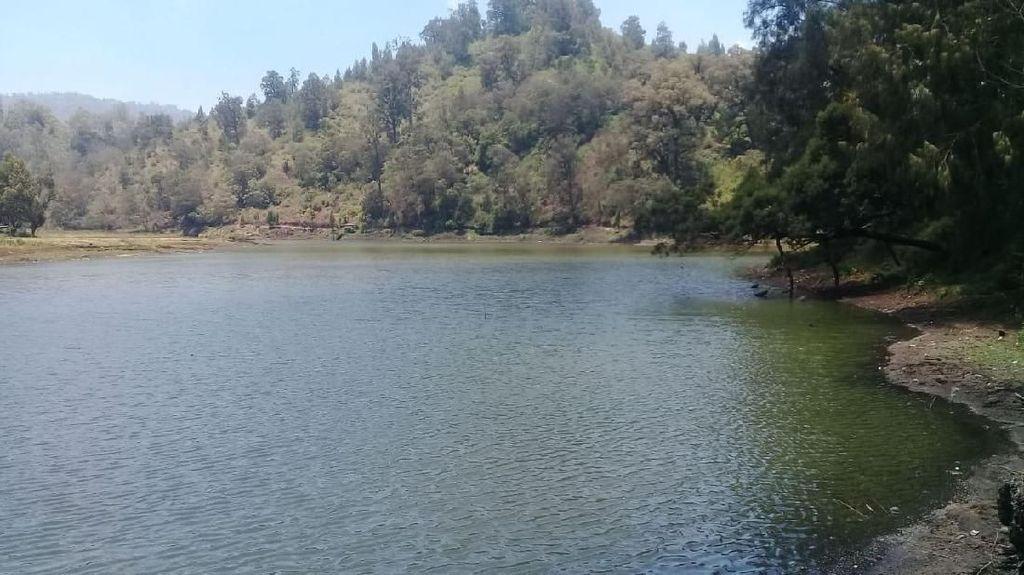 Foto: Danau Ranu Pani yang Kini Bersih