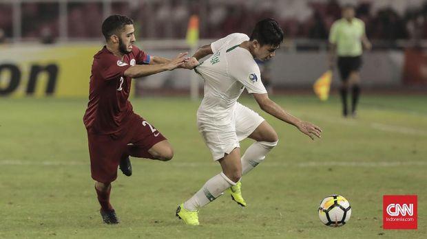 Timnas Indonesia U-19 gagal menuai poin dalam laga menghadapi Qatar kendati mampu bangkit di akhir laga.