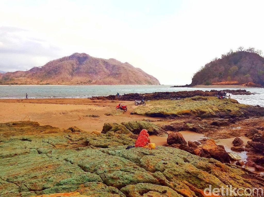 Foto: Before-After Pantai Cantik di Dompu yang Kini Memprihatinkan