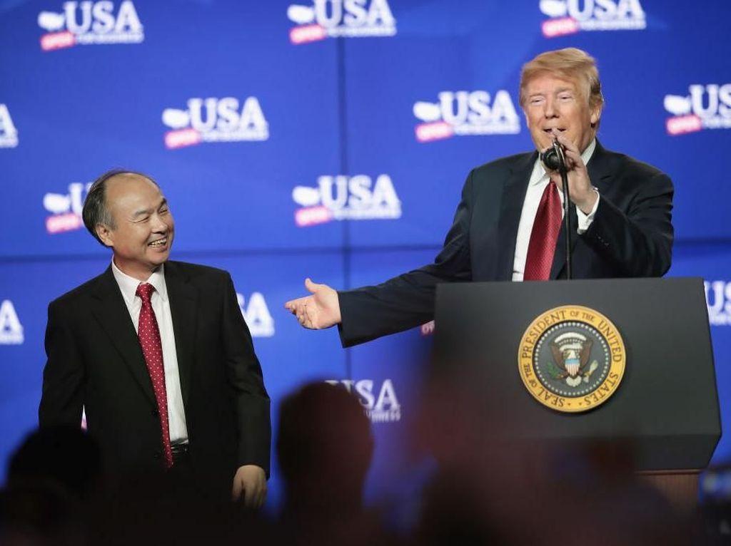 Bos Softbank Janji ke Trump Investasi di AS Rp 700 Triliun