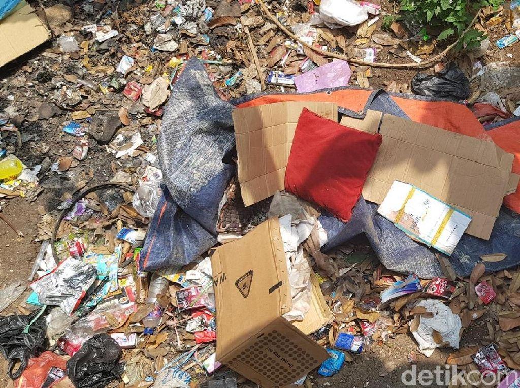 Penampakan Kardus Pembungkus Mayat Wanita di Sukabumi