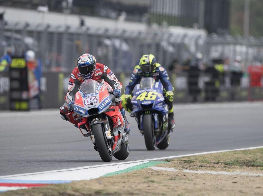 Dovizioso: Pertarungan dengan Rossi Belum Selesai