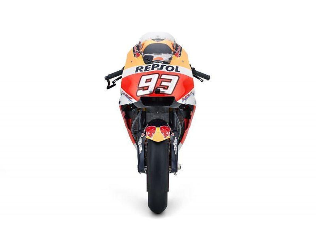 Intip Motor Honda yang Antar Marquez Juara MotoGP 2018