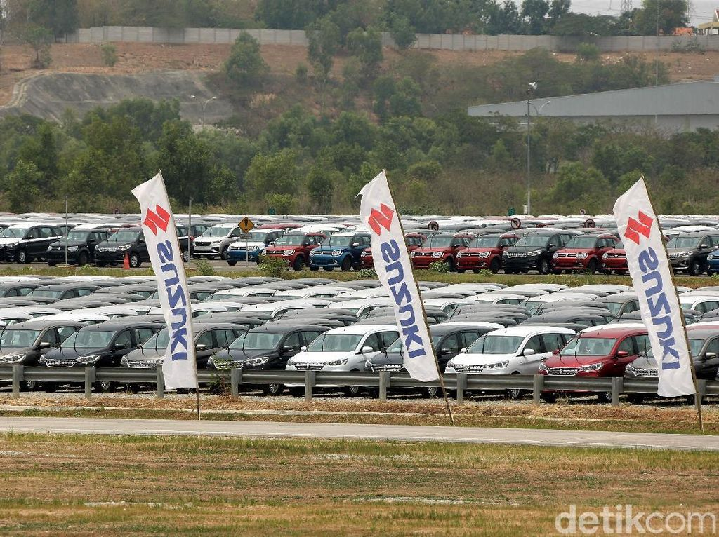 Motor dan Mobil Suzuki Buatan Indonesia Dikirim ke-97 Negara